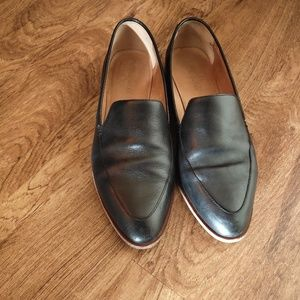 Madewell Black the Frances loafer